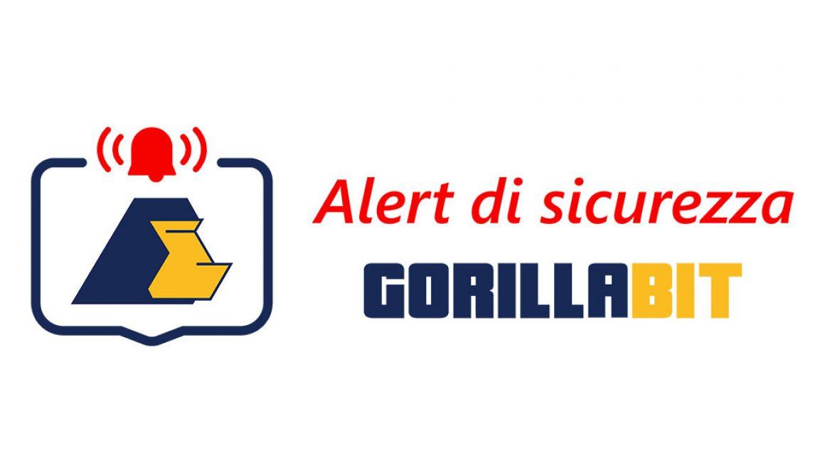 Alert GorillaBit